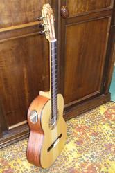 Гитара ручной работы с аккустическим портом